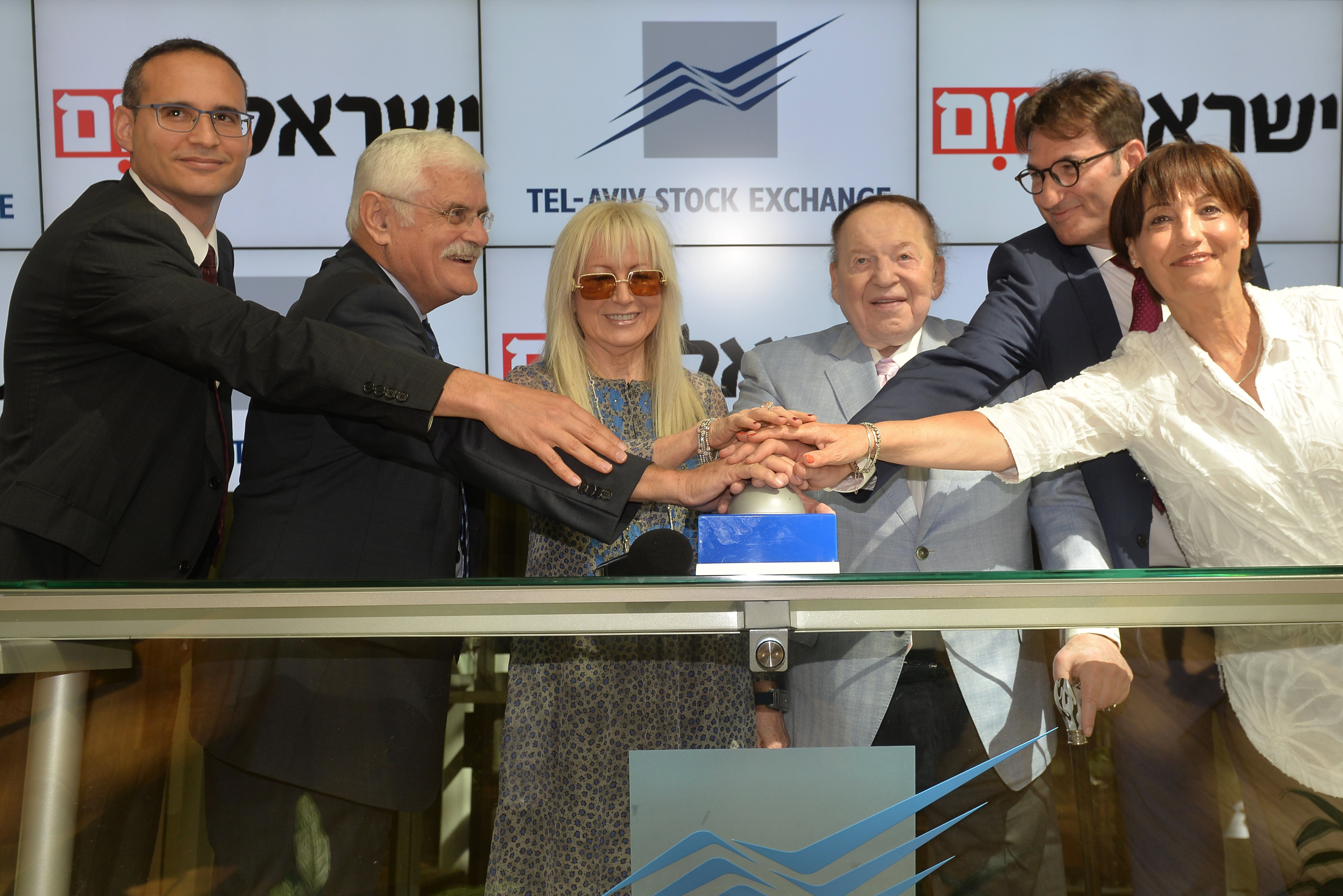 The Management of Israel Today Opened Trading this Morning to mark its 10th anniversary